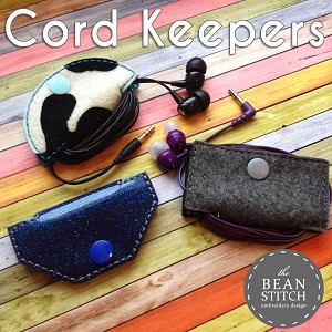 Cord Keepers -THREE Styles INCLUDED!!!