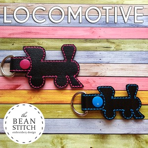 Locomotive - TWO Sizes INCLUDED :)