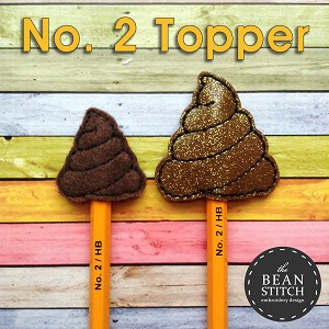 No. 2 Topper - TWO Styles and TWO Sizes INCLUDED!  BONUS Multis!!!