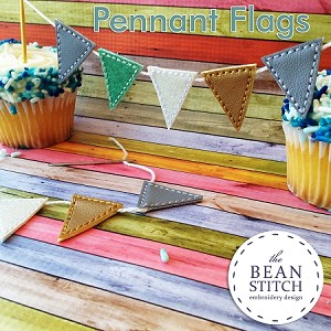 Pennant Flag  FOUR sizes INCLUDED!!!