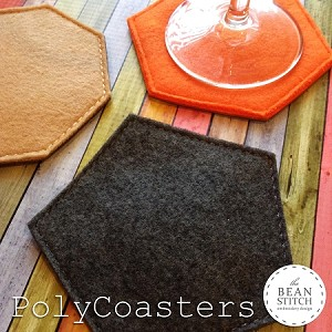 PolyCoasters - THREE designs Included!