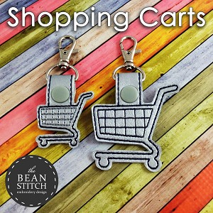 Shopping Carts - TWO sizes INCLUDED!!!  Bonus Multis!