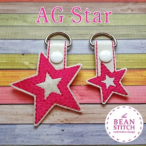 AG Star - TWO sizes INCLUDED!!!