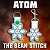 Atom - TWO sizes included!