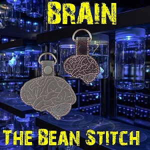 Brain Side - TWO sizes INCLUDED!