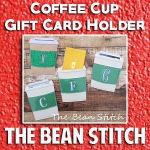 Coffee Cup - Gift Card Holder