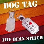 Dog Tag TWO sizes included!