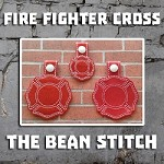 Fire Fighter Cross - Includes TWO(2) Sizes!
