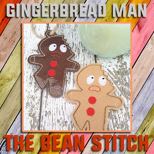 Gingerbread Man - TWO design options included!