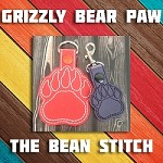 Grizzly Bear Paw - Includes 2 sizes!
