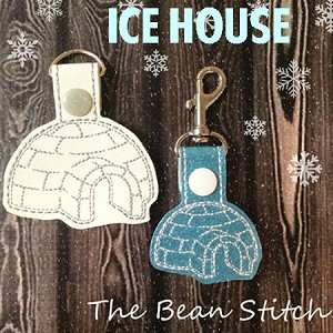 Ice House Design - Includes TWO sizes!
