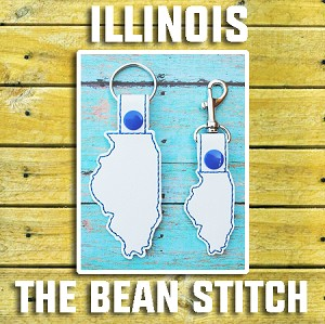 Illinois - Includes TWO(2) Sizes!