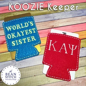 Koozie Card Keeper !!!
