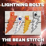 Lightning Bolts - FOUR sizes included!