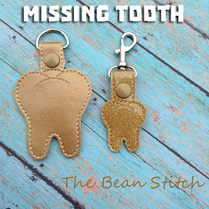 Missing Tooth - TWO sizes included
