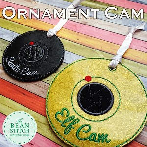 Ornament Cam - TWO sizes Included !!!  Bonus Phrases INCLUDED!