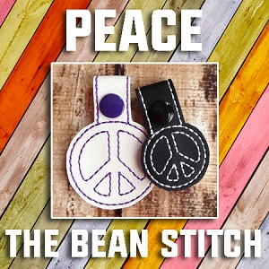 Peace - Includes 4 design files in 2 sizes!