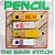 Pencil - FOUR sizes INCLUDED!!!
