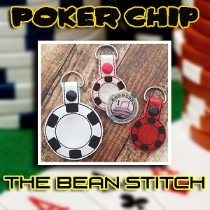 Poker Chip -  Includes TWO Sizes!!!