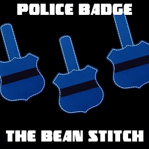 Police Badge - One Size!
