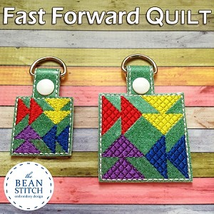 Quilt Fast Foward - TWO sizes AND Two Styles Included !!!