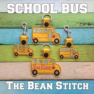 School Bus - TWO Sizes and TWO options Included!