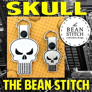 Skull - TWO Sizes INCLUDED!