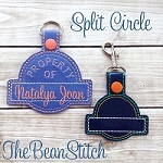 Split Circle - TWO Sizes INCLUDED!  with BONUS phrases!!!
