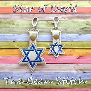Star of David - TWO sizes INCLUDED!