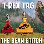 TRexTag - TWO Sizes INCLUDED!