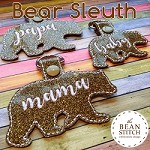 Bear Sleuth - Includes THREE Options and TWO Sizes! BONUS Multis!