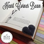 Heart -  Corner Bean  TWO Sizes Included!!!