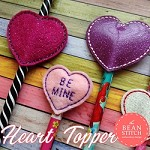 Heart Topper - TWO Styles, TWO Shapes and TWO Sizes INCLUDED!  BONUS Multis!!!