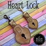 Heart Lock -  TWO Sizes INCLUDED!!!