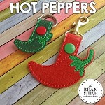 Hot Peppers -  TWO Sizes INCLUDED!!!