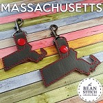 Massachusetts - TWO sizes Included!