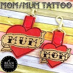 FREE - Mom/Mum Tattoo - TWO Designs Included :)  Bonus Multis!