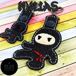 Ninjas - TWO Sizes INCLUDED!!! BONUS Multis!
