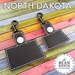North Dakota - TWO sizes Included!