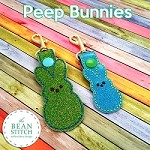 Peep Bunnies -  TWO Sizes INCLUDED!!!