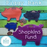 Piggy Bank -  FOUR Sizes INCLUDED!!!