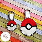 Pokeball - TWO sizes INCLUDED!!!