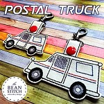 Postal Truck - TWO Sizes INCLUDED!!! BONUS Multis!