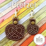 Pretzel -  TWO Sizes INCLUDED!!!