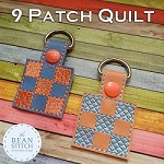 Quilt 9 Patch - TWO sizes AND Two Styles Included !!!