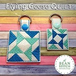 Quilt Flying Geese - TWO sizes AND Two Styles Included !!!