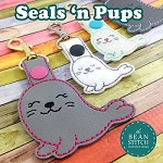 Seals n Pups - TWO Designs and TWO Sizes INCLUDED!!! BONUS Multis!