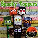 Spooky Toppers - SIX Designs INCLUDED!!!