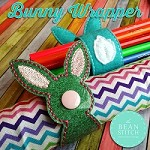 Wrapper - Bunny Includes TWO Styles!   (Does not have a 4x4 hoop option)