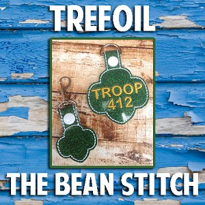 Trefoil.   Includes TWO Sizes!!!